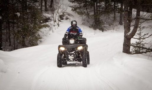 Winter Tires Quebec >> Enjoying Winter ATV Trails in Ontario - QuadDealers.ca
