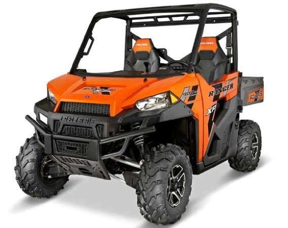 polaris ranger xp 900 deluxe nuclear sunset orange le 2014 new atv for sale in timmins. Black Bedroom Furniture Sets. Home Design Ideas