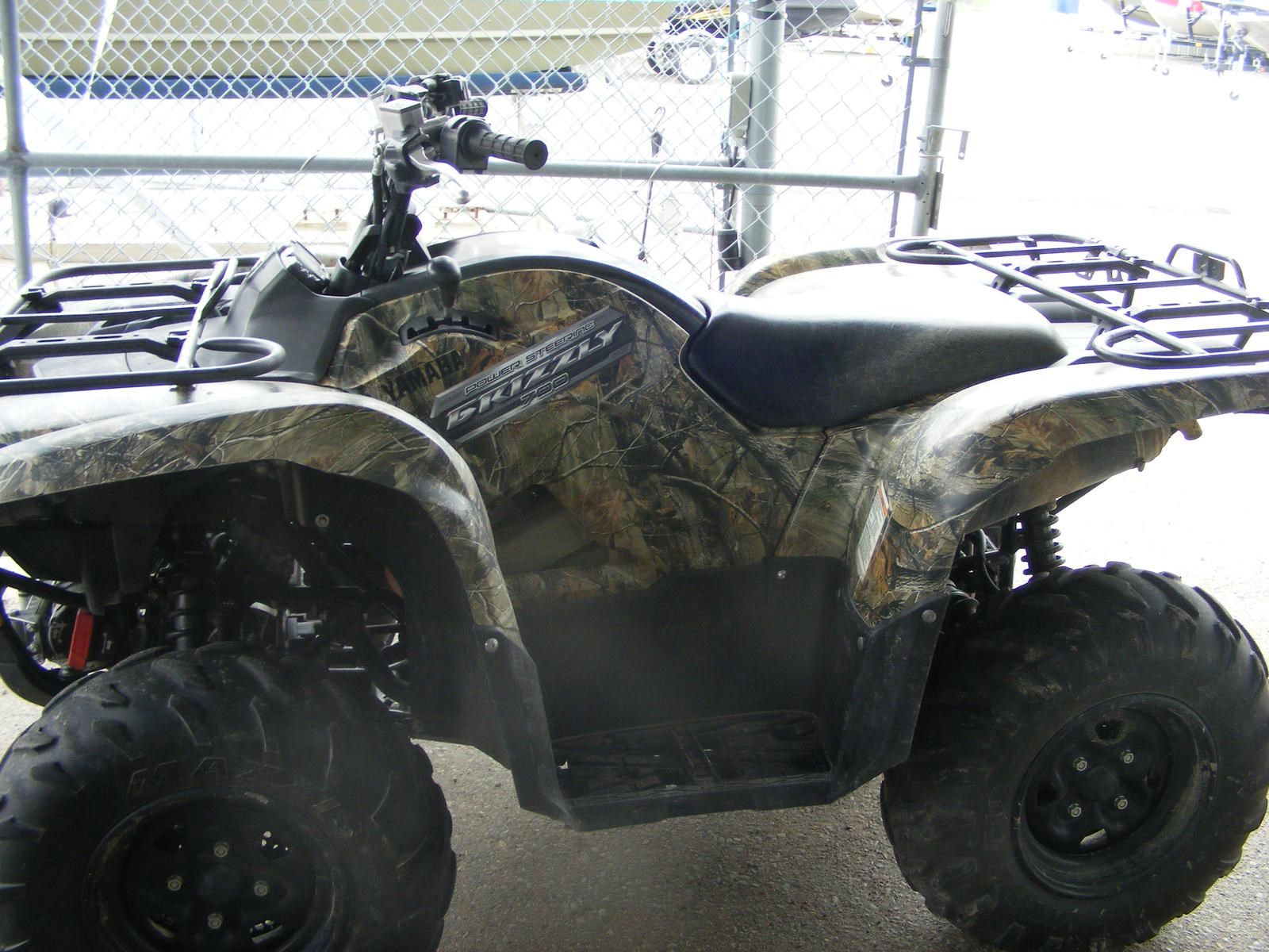 Yamaha grizzly 700 fi eps realtree ap hd camouflage for Yamaha grizzly 700 for sale