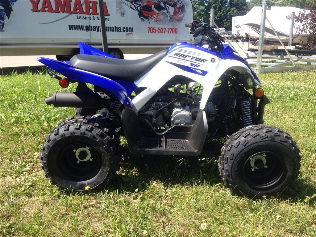 yamaha raptor 90 2016 new atv for sale in midland ontario. Black Bedroom Furniture Sets. Home Design Ideas
