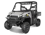 Polaris® Ranger® 570 Full-Size EPS Turbo Silver 2015