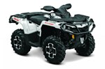 Can-Am Outlander XT™ 800R - Pearl White 2015