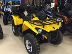 Can-Am Outlander L DPS 450 Yellow 2016
