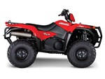 Suzuki KingQuad 750AXi Power Steering - Flame Red 2017