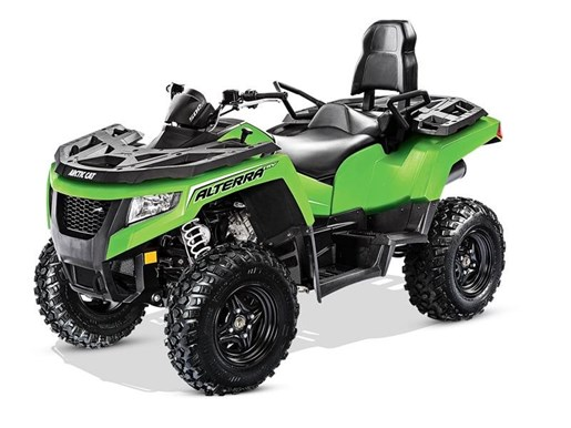 2017 Arctic Cat Alterra TRV 500 Lime Photo 1 of 1