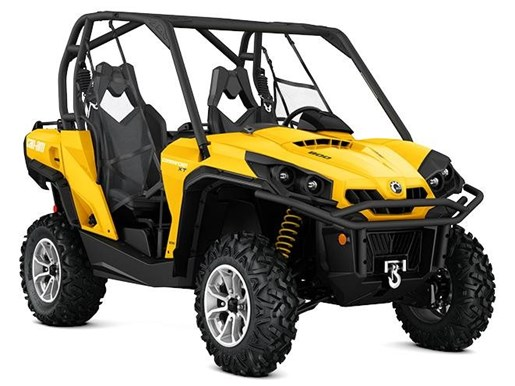 Can Am Commander Xt 800r Yellow 2017 New Atv For Sale In