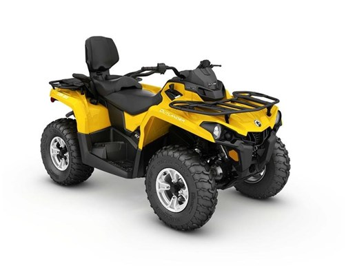 2017 Can-Am Outlander MAX DPS 570 Yellow Photo 1 of 1
