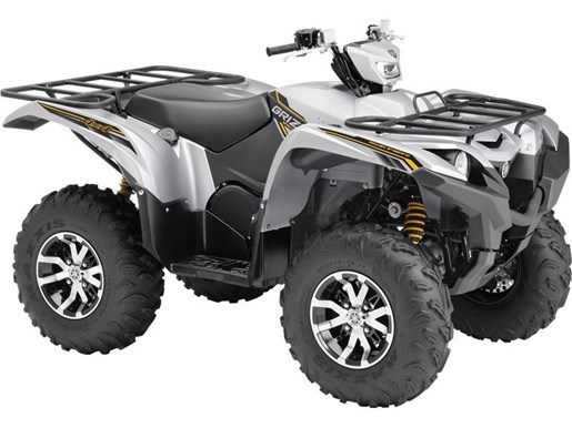 2017 Yamaha Grizzly EPS SE Matte Silver Photo 2 of 2