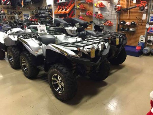 2017 Yamaha Grizzly EPS SE Matte Silver Photo 1 of 2