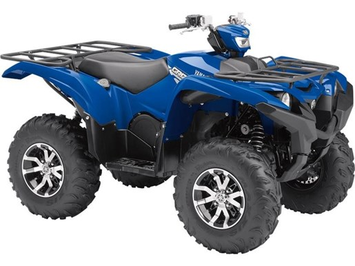 2017 Yamaha Grizzly EPS Steel Blue Photo 1 of 1