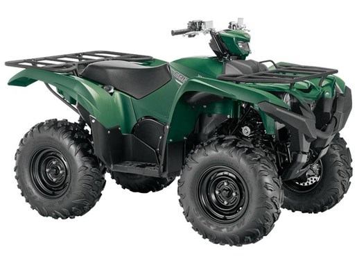 2017 Yamaha Grizzly EPS Green Photo 1 of 2