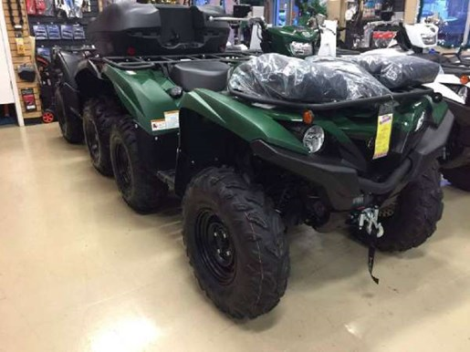 2017 Yamaha Grizzly EPS Green Photo 2 of 2