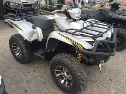 2017 Yamaha Grizzly EPS SE Matte Silver Photo 1 of 1