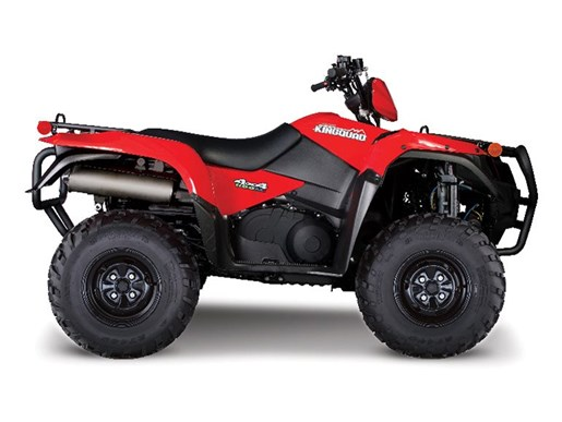 2016 Suzuki KingQuad 500AXi Power Steering Special Edition Red Photo 1 of 1