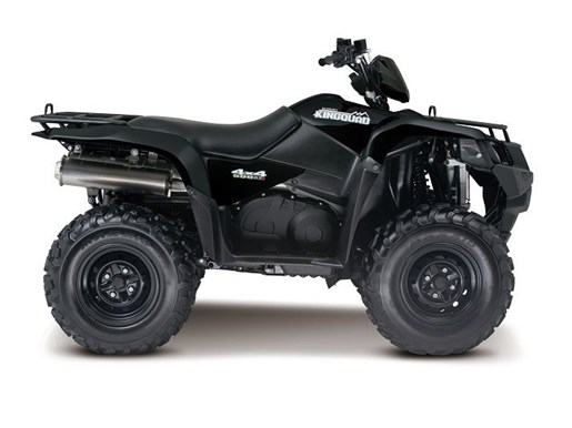 2016 Suzuki KingQuad 500AXi Power Steering - Matte Black Photo 1 of 1