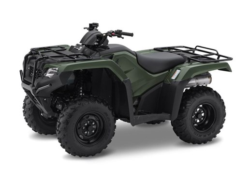 2017 Honda TRX420 Rancher Olive Photo 1 of 2