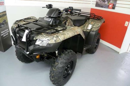 2017 Honda TRX420 Rancher DCT IRS EPS Camo Photo 1 of 6