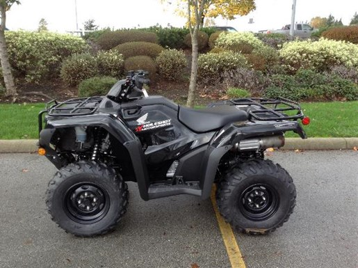 Honda TRX420 Rancher DCT IRS EPS Black 2017 New ATV for Sale in Langley - Serving Greater ...
