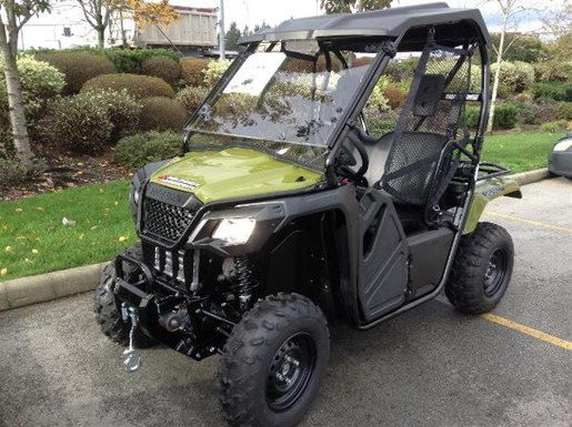 honda pioneer 500 scout green 2017 new atv for sale in langley serving greater vancouver. Black Bedroom Furniture Sets. Home Design Ideas