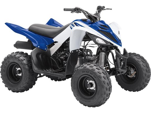 2017 Yamaha Raptor 90 Yamaha Racing Blue Photo 1 of 1