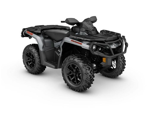 2017 Can-Am Outlander XT 650 Brushed Aluminum Photo 1 of 1