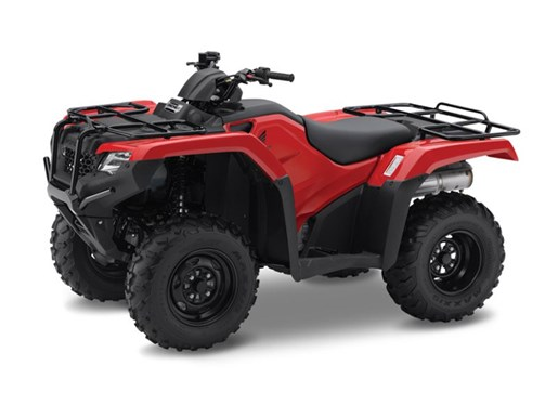 2017 Honda TRX420 Rancher Red Photo 1 of 1