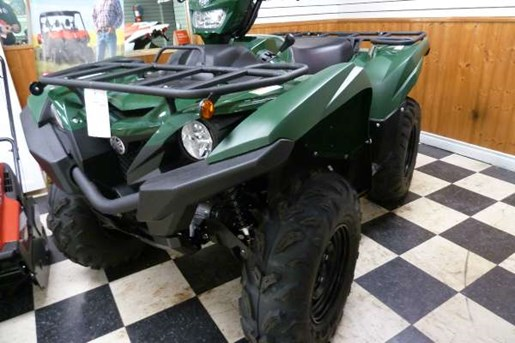 2017 Yamaha Grizzly EPS Green Photo 1 of 4