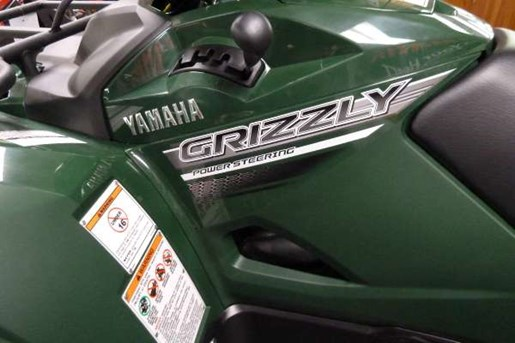 2017 Yamaha Grizzly EPS Green Photo 2 of 4