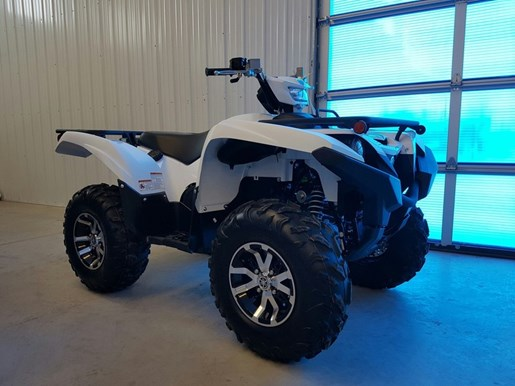 2017 Yamaha Grizzly EPS Alpine White Photo 1 of 7