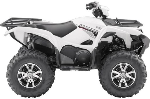 2017 Yamaha Grizzly EPS Alpine White Photo 2 of 7