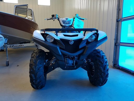 2017 Yamaha Grizzly EPS Alpine White Photo 4 of 7