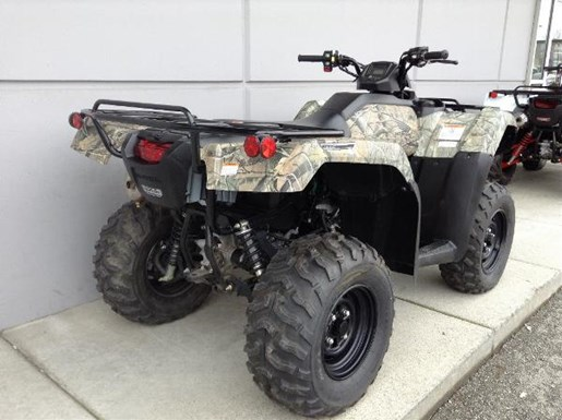 honda trx420 dct irs eps camo 2016 new atv for sale in langley   serving greater vancouver