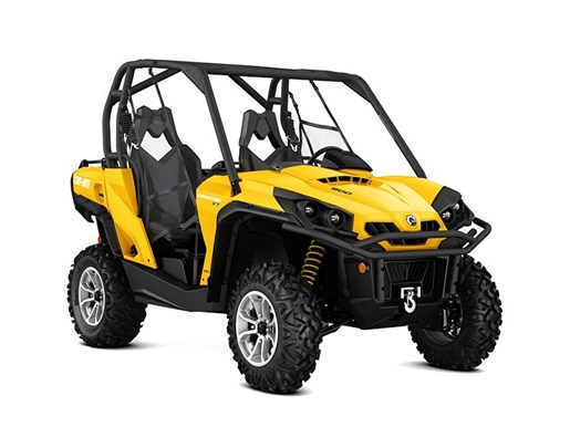 2017 Can-Am Commander™ XT™ 800R Yellow Photo 1 of 1