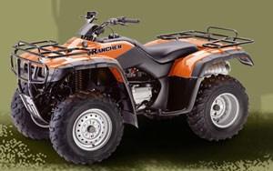 2001 honda fourtrax 350 manual