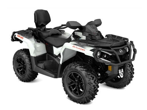 2017 Can-Am Outlander™ MAX XT™ 650 Pearl White and Black Photo 1 of 2