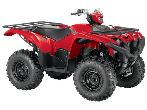 2017 Yamaha Grizzly EPS Red Photo 1 of 1