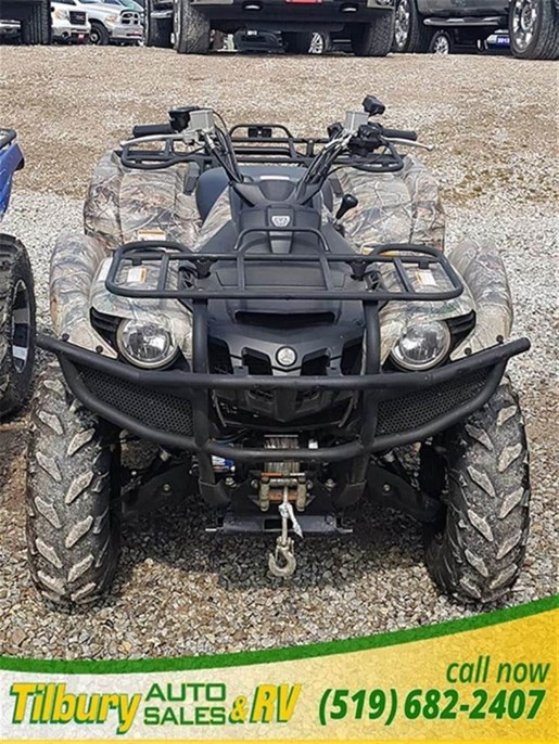 2014 Yamaha Grizzly 700 Photo 2 of 7