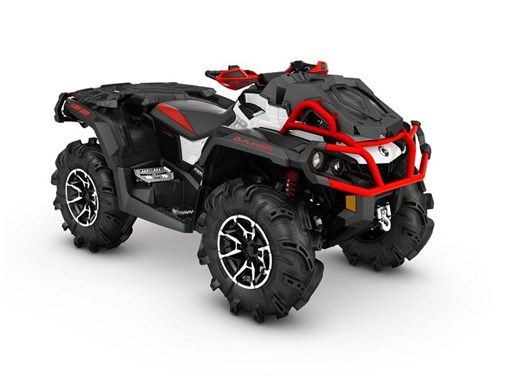 2017 Can-Am Outlander X mr 1000R Black / White / Can-Am Red Photo 1 of 1
