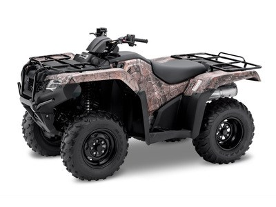 2017 Honda TRX® 420 Rancher® DCT IRS EPS Honda Phantom Camo™ Photo 1 of 1