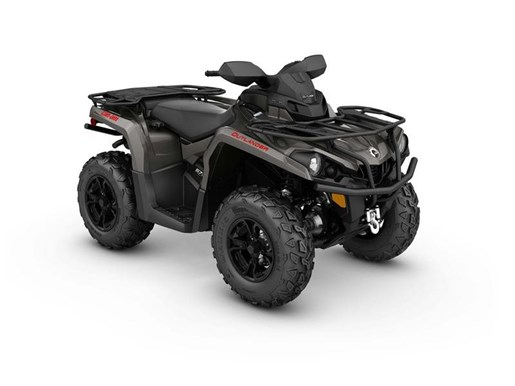 2017 Can-Am Outlander XT 570 Pure Magnesium Metallic Photo 1 of 1