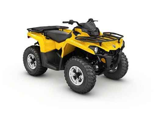 2017 Can-Am Outlander DPS 450 Yellow Photo 1 of 1