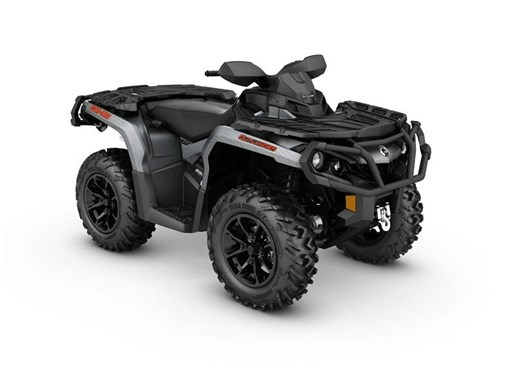 2017 Can-Am Outlander XT 850 Brushed Aluminum Photo 1 of 1