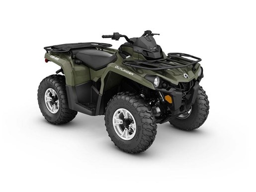 2017 Can-Am Outlander DPS 450 Green Photo 1 of 1