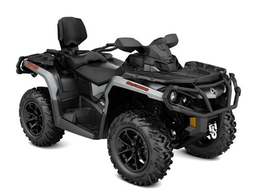 2017 Can-Am Outlander™ MAX XT™ 850 Brushed Aluminum Photo 1 of 1