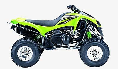 2004 Kawasaki KFX700 V Force Photo 1 of 1