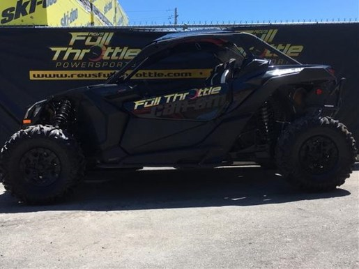 2017 Can-Am Maverick X3 X ds Turbo R Triple Black Photo 2 of 2