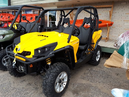 can am commander xt 800 2017 new atv for sale in mactier ontario. Black Bedroom Furniture Sets. Home Design Ideas