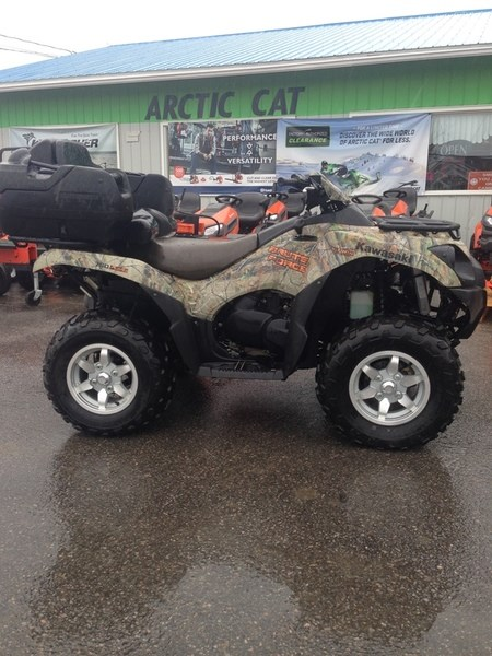2013 Kawasaki Brute Force® 750 4x4i EPS Camo Photo 1 of 6