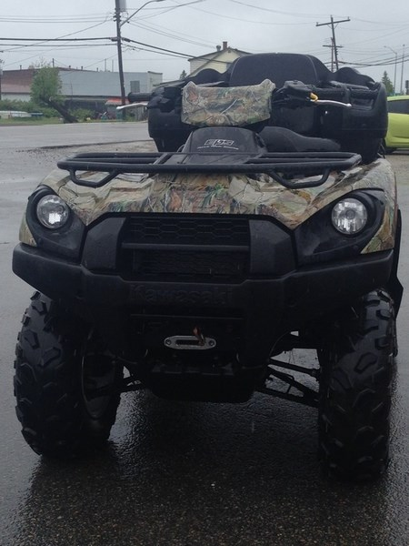 2013 Kawasaki Brute Force® 750 4x4i EPS Camo Photo 6 of 6