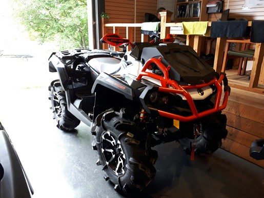 2017 Can-Am Outlander™ X® mr 1000R Photo 8 of 33